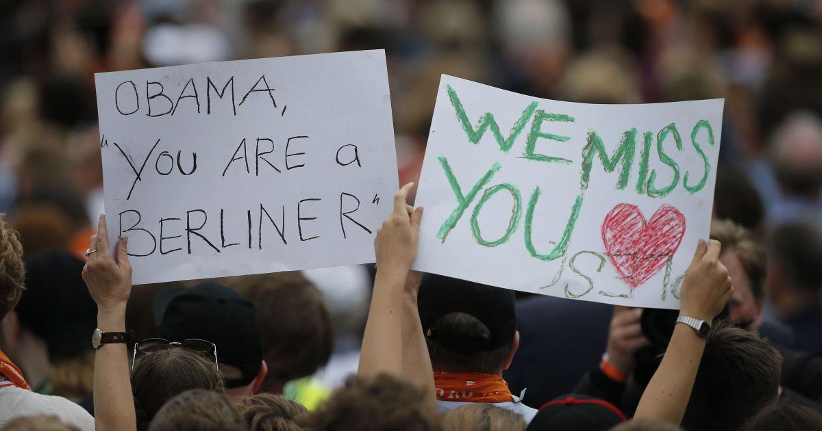 Тепла зустріч Обами у Берліні @ Reuters