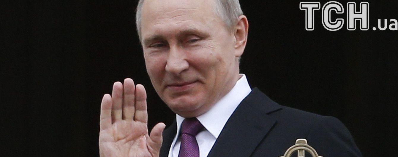 Путін розповів про ігри з онуками та про гордість за дітей