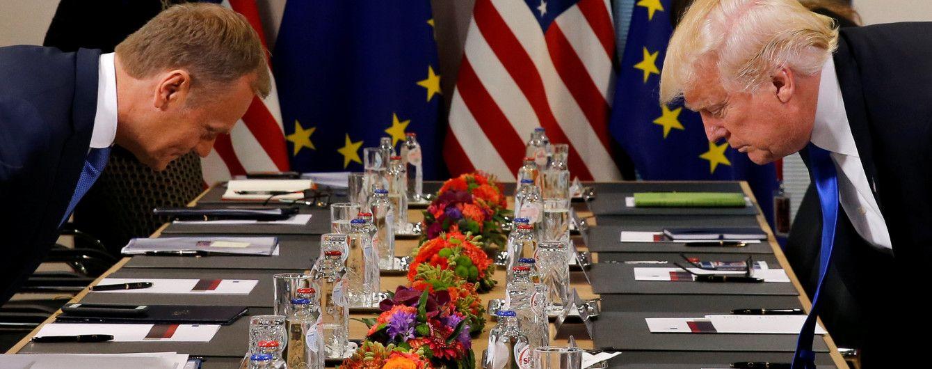 Трамп проти єдиної і сильної Європи - Туск