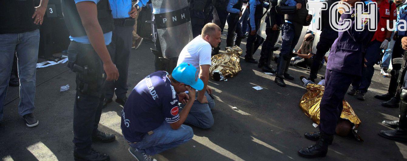 У Гондурасі загинули чотири людини під час тисняви перед футбольним матчем