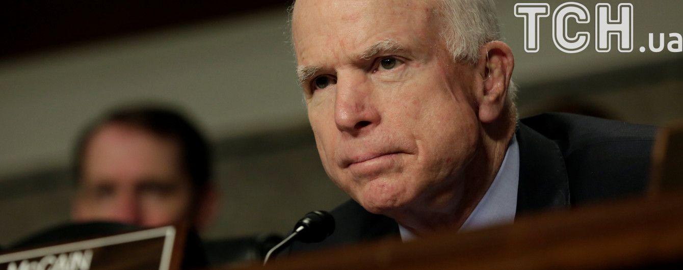 Маккейн переконаний, що втручання Путіна у вибори в США – лише частина його амбіцій