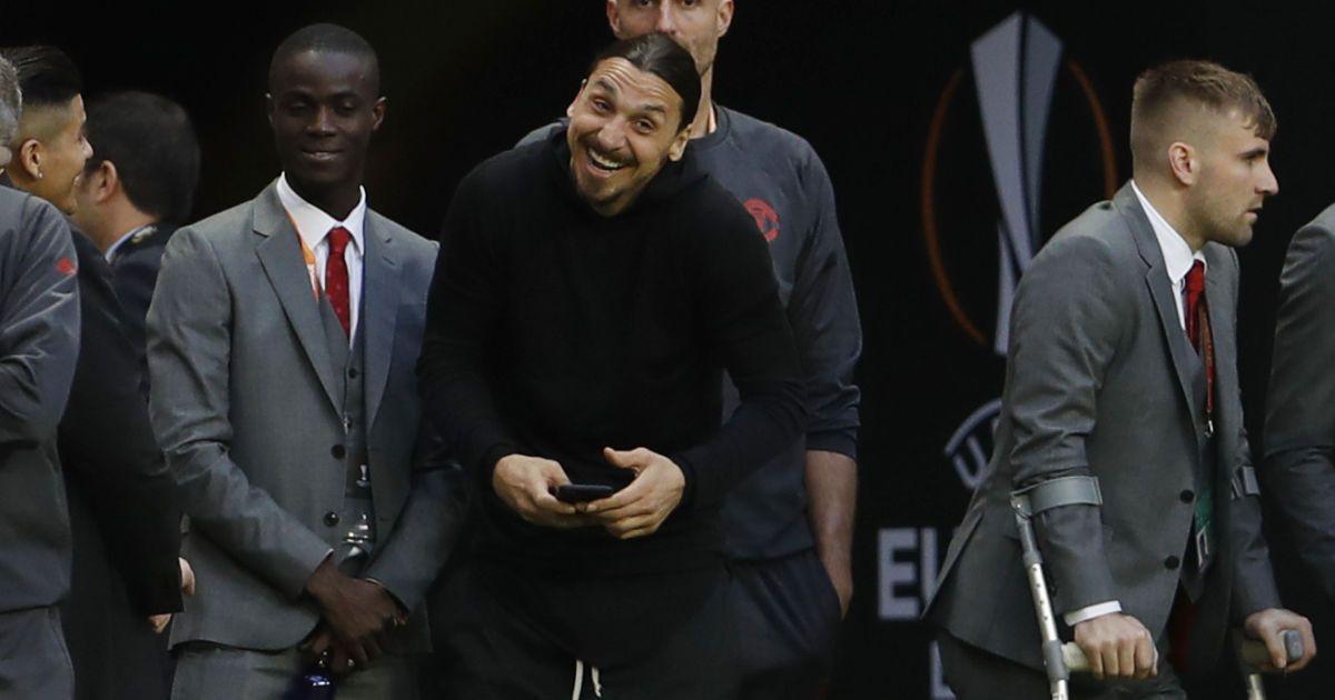 Фінал Ліги Європи-2017Аякс - Манчестер Юнайтед. Златан Ібрагімович @ Reuters