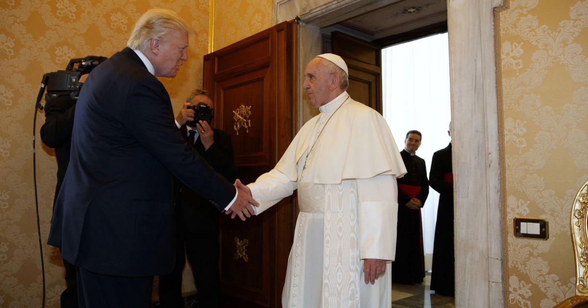 Семья Трампів впервые прибыла в Ватикан с официальным визитом