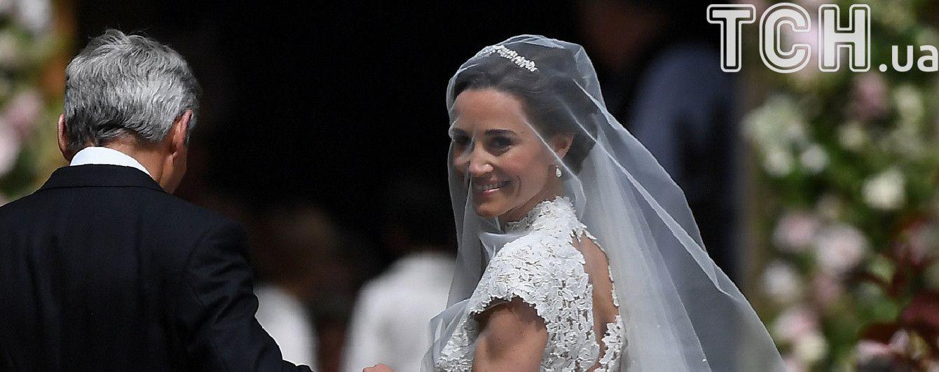 Сестра Кейт Міддлтон виходить заміж: з'явилися перші фото з весілля