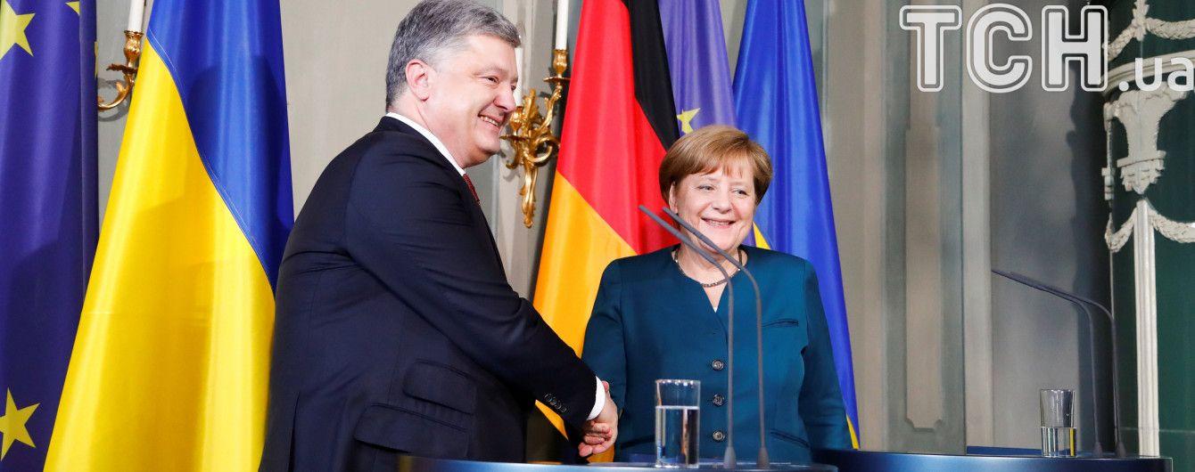 Візит особливої довіри: Порошенко і Меркель узгодили позиції щодо ситуації на Донбасі