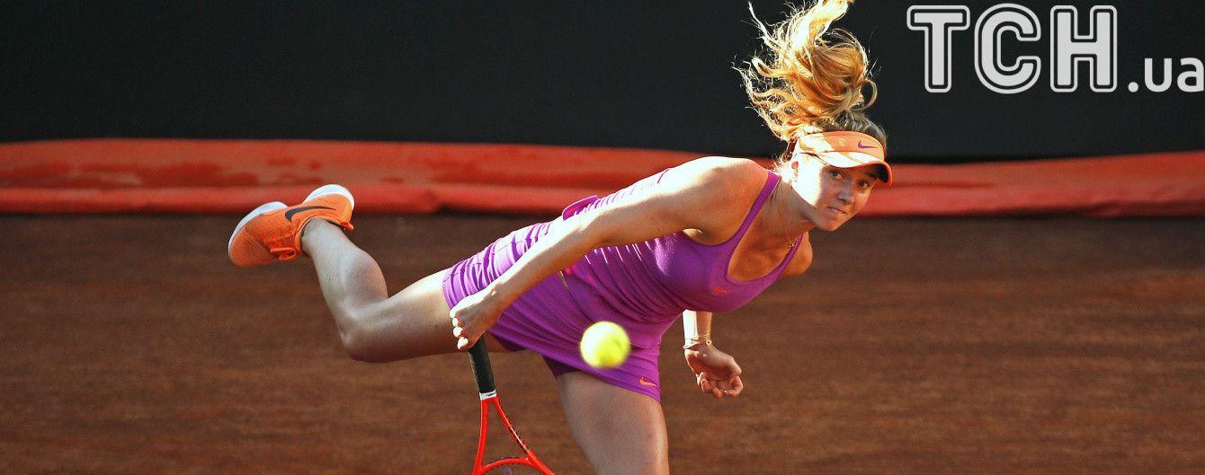 Світоліна стала фіналісткою престижного турніру в Римі