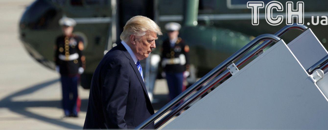 Трамп обрав несподіваний маршрут для першої офіційної закордонної поїздки