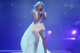 """Белые наряды на """"Евровидении-2017"""": смелые образы участниц песенного конкурса"""