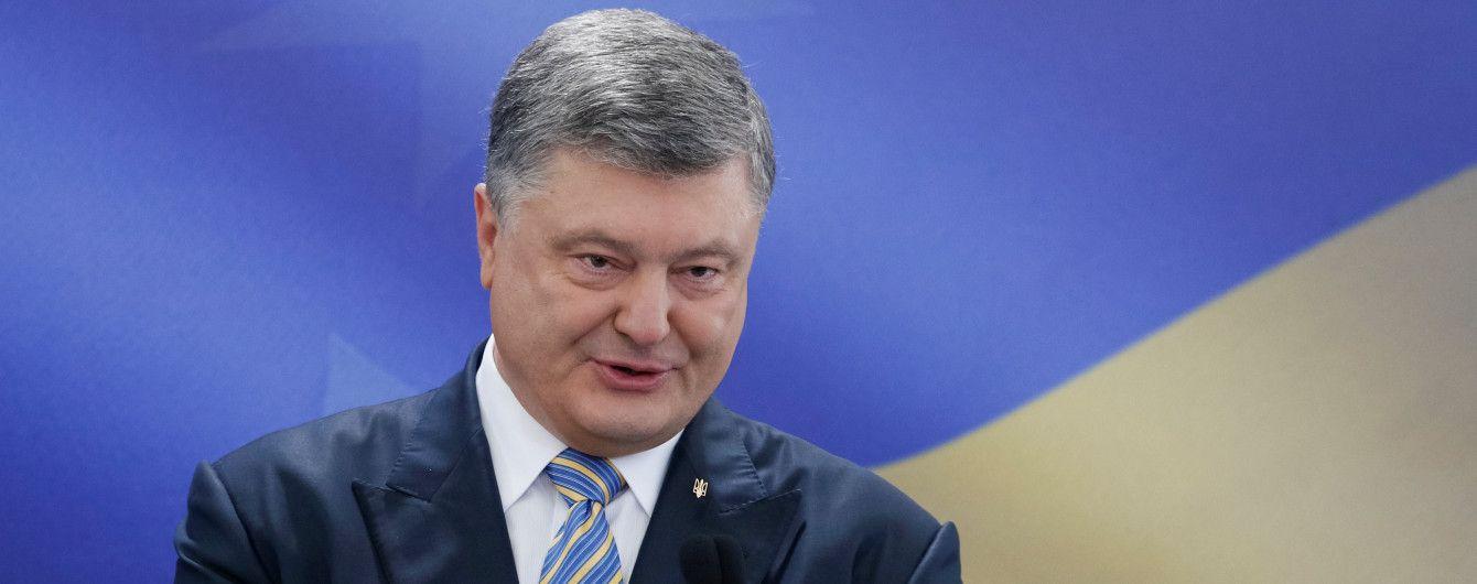 """Порошенко заявив, що не хоче бачити своїх дітей """"мажорами"""""""
