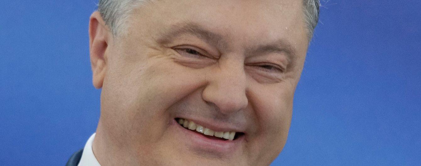 Порошенко прокоментував ранкову передачу першої леді на каналі Ахметова