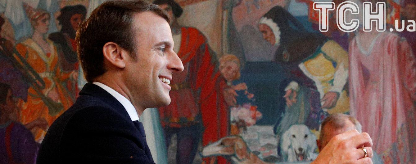 Любов до Франції, захист Європи та відновлення довіри. Текст переможної промови Макрона