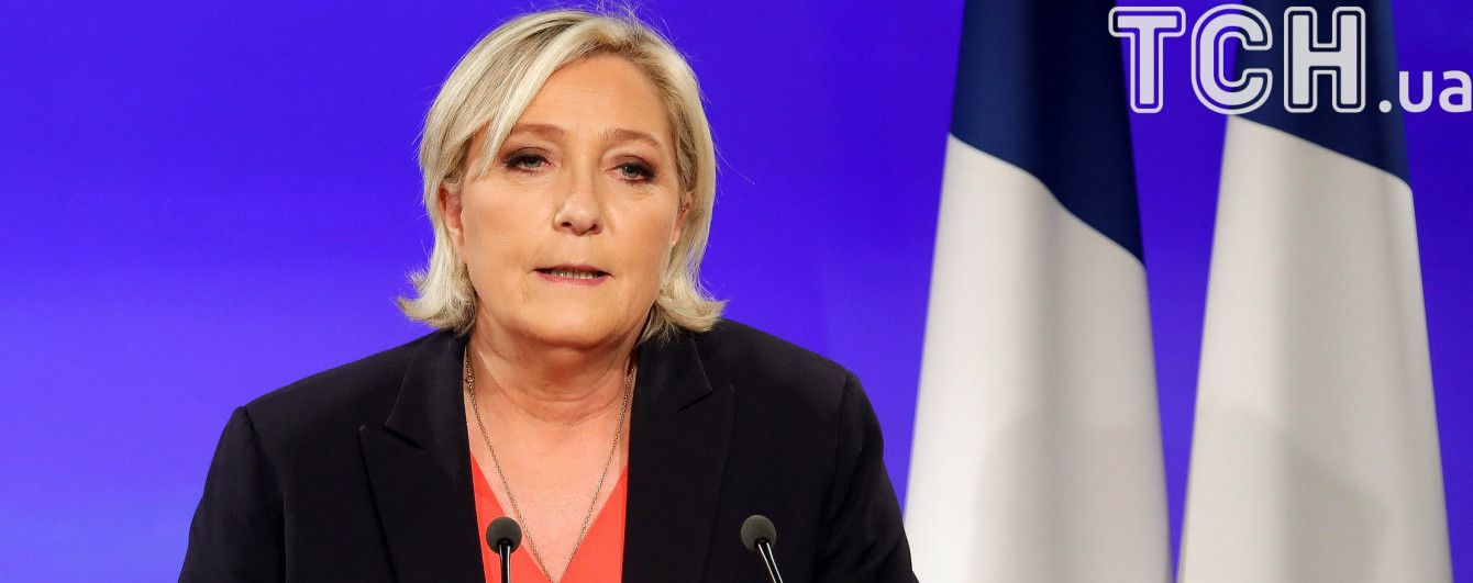 Ле Пен привітала Макрона з перемогою і заявила про оновлення своєї партії