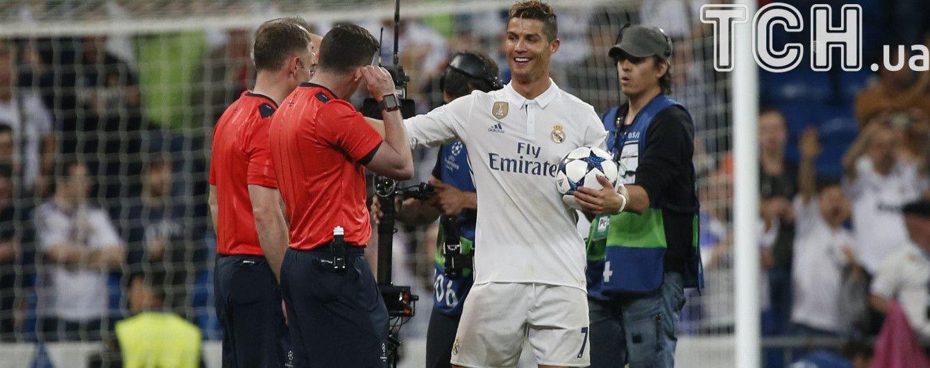 """Роналду обговорив з арбітром у перерві матчу з """"Атлетіко"""", чи був в офсайді"""