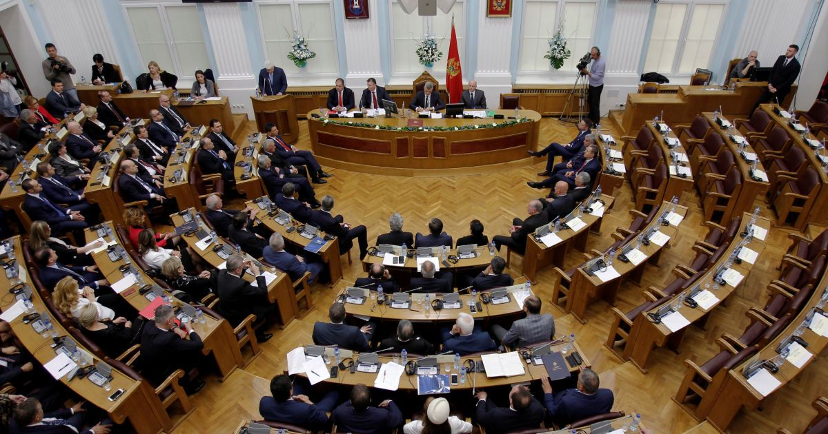 Парламент Черногории