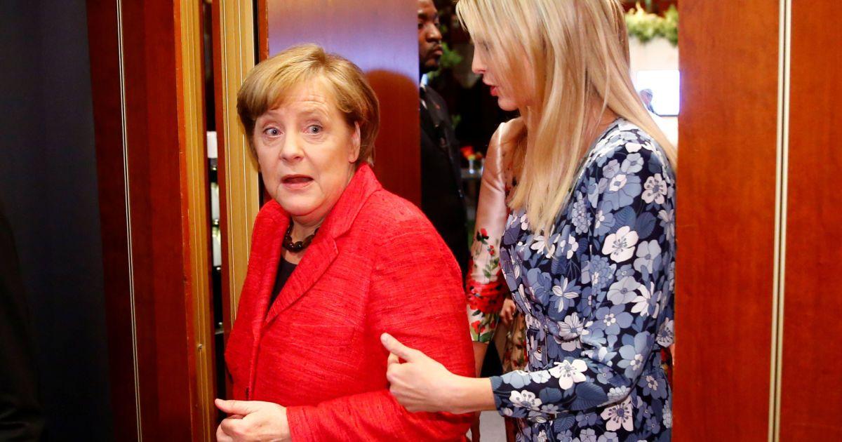 Ангела Меркель та Іванка Трамп @ Reuters