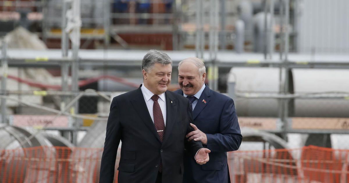 Зустріч Порошенка і Лукашенка