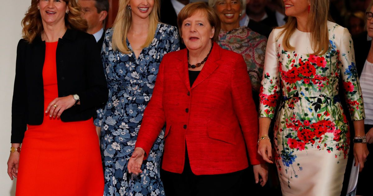 Іванка Трамп, Ангела Меркель, королева Максима @ Reuters