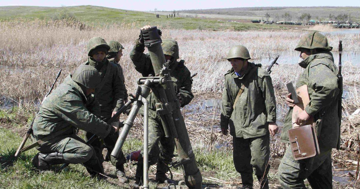 На Донбасі семеро бойовиків підірвались на гранаті