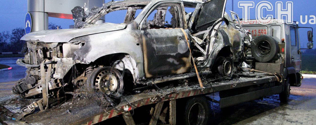 СМИ опубликовали видео момента взрыва авто ОБСЕ на Луганщине