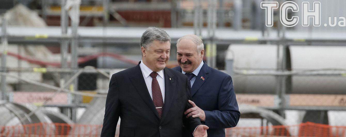 Лукашенко запевнив, що навчання з Росією не загрожують Україні - Порошенко