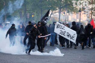 Протести в Парижі: троє затриманих і двоє постраждалих