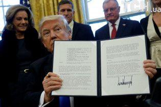 Від інавгурації до операцій в Середземному морі. 100 днів президентства Трампа у світлинах