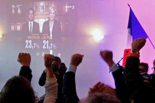 Выборы президента Франции: Ле Пен проигрывает Макрону в крупнейших городах