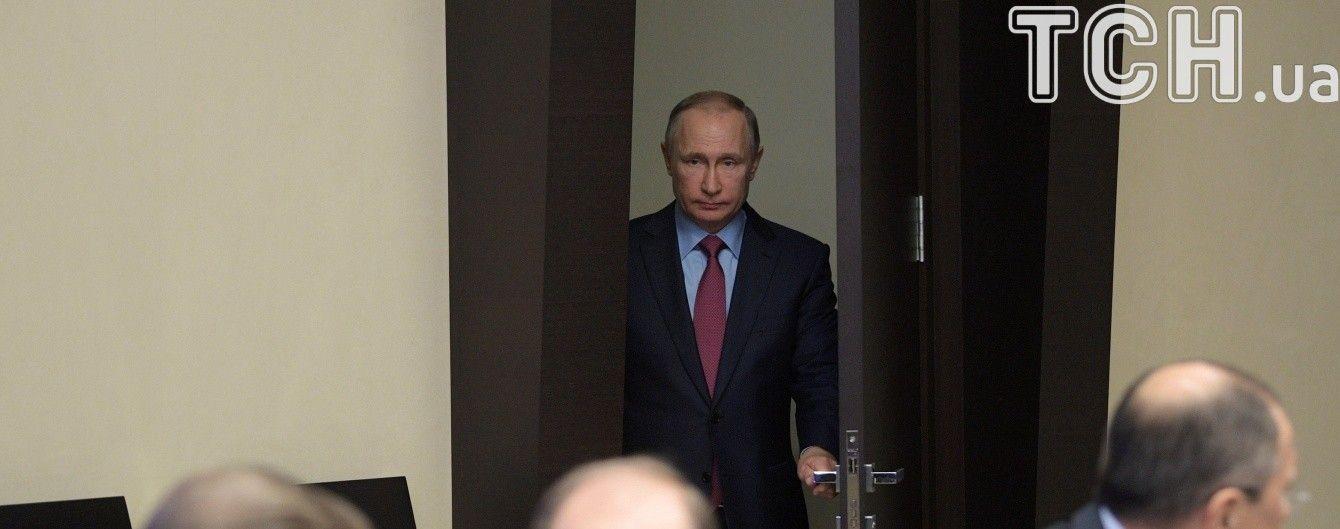 Путин хочет запустить электронную систему для слежения за перемещением товаров с Украины