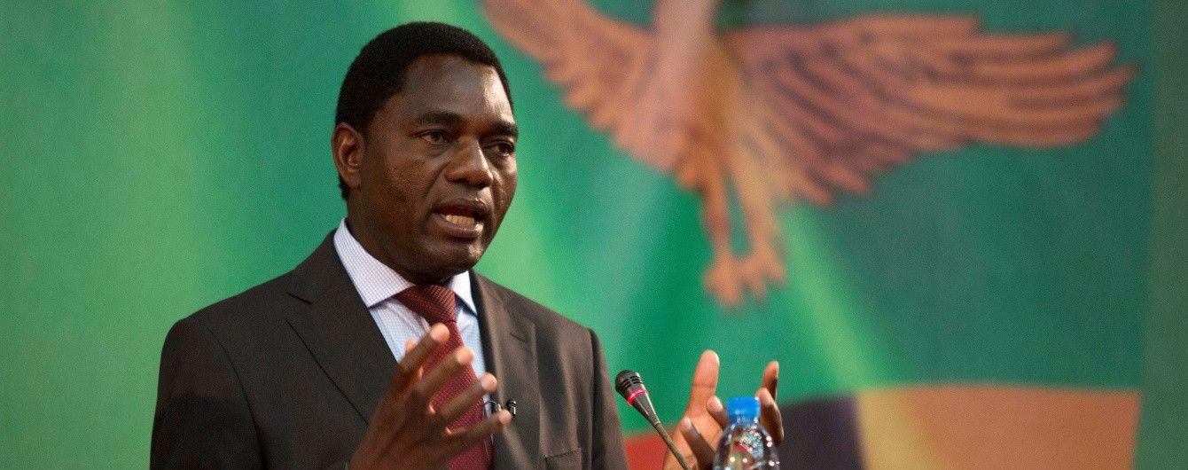 У Замбії опозиціонера звинувачують у держзраді через те, що його конвой не пропустив кортеж президента