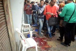 В Сети появилось видео момента взрыва смертника возле церкви в Египте