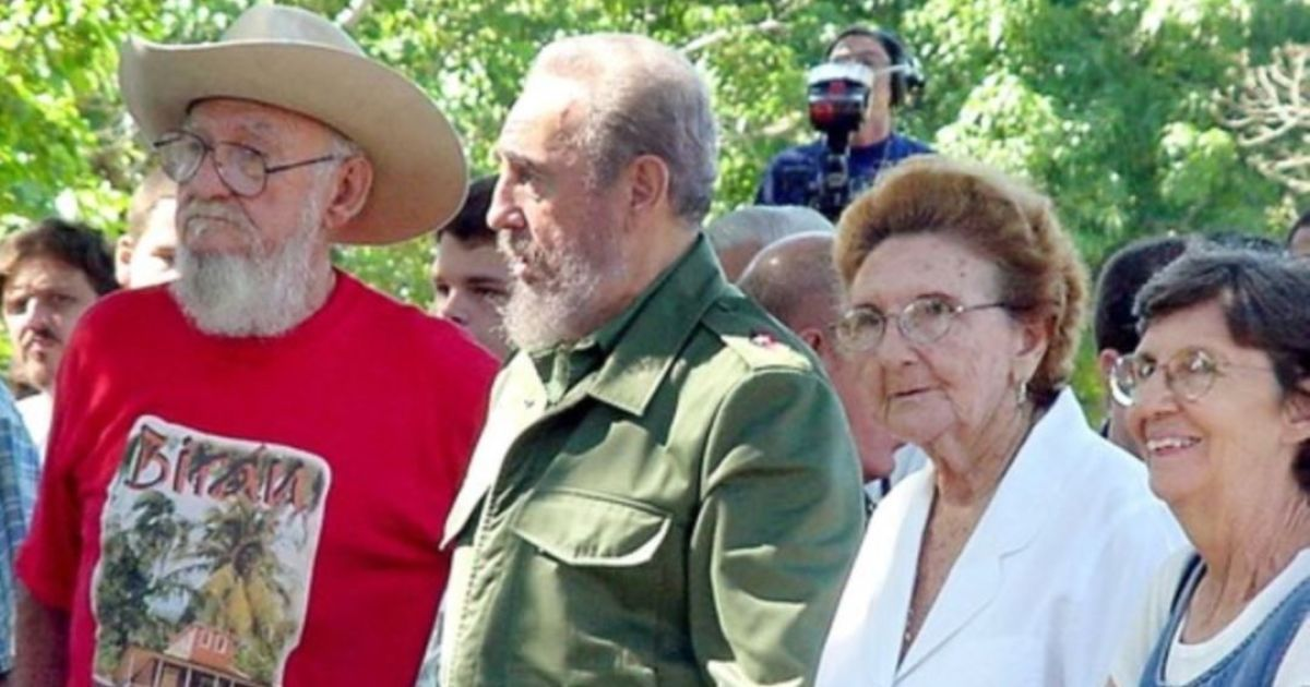 Рамон, Фидель, Анхела и Агустина Кастро. Все четверо умерли @ Reuters