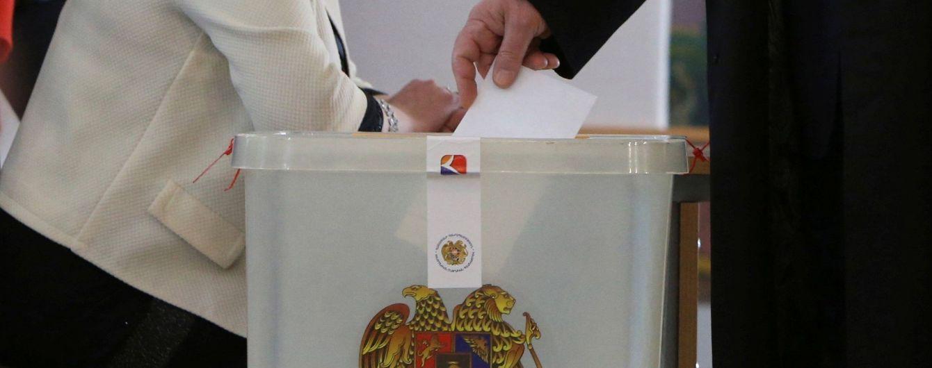 В Армении начались внеочередные парламентские выборы