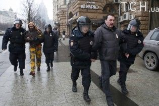 У Москві силовики затримали більше 40 осіб - ЗМІ