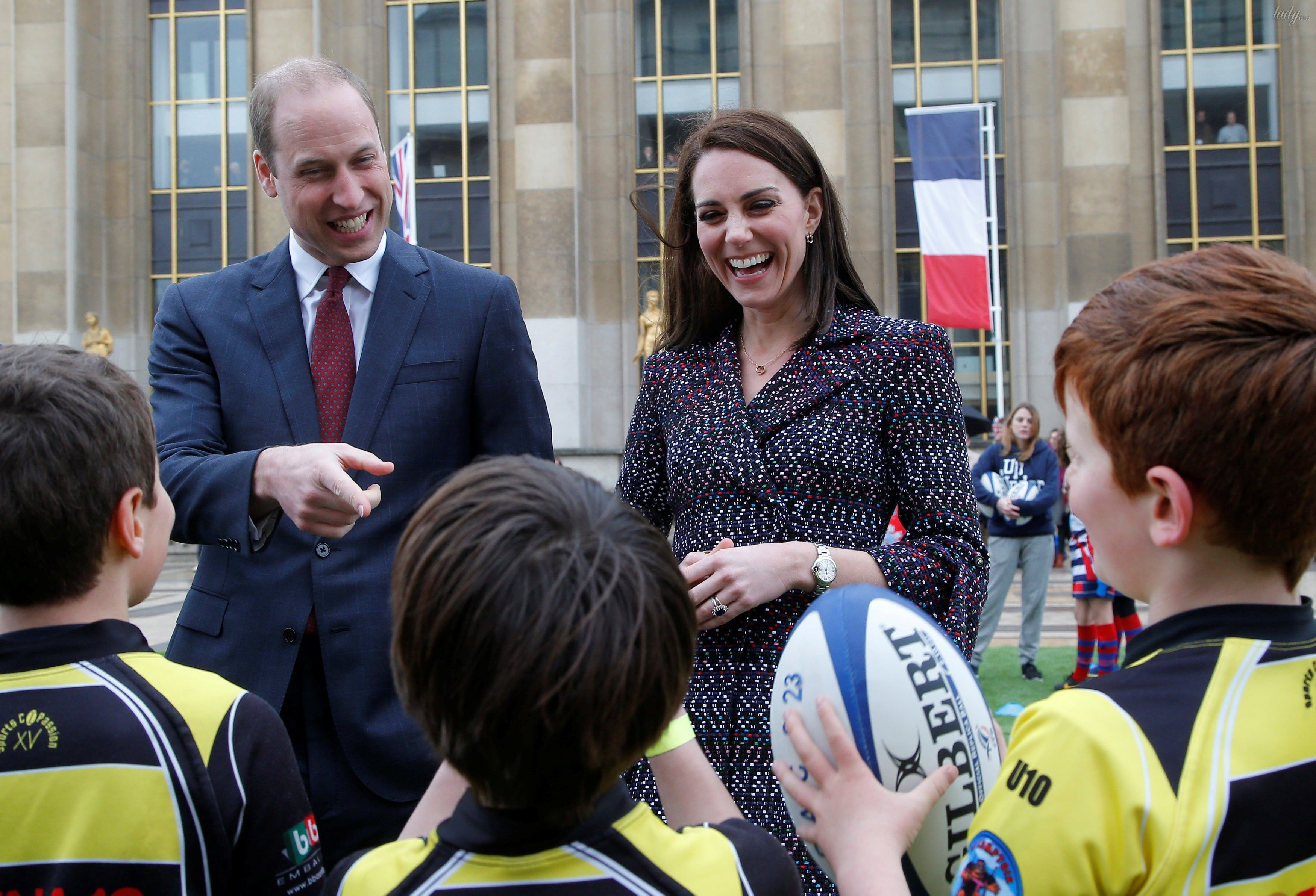 Герцогиня Кембриджская и принц Уильям_17