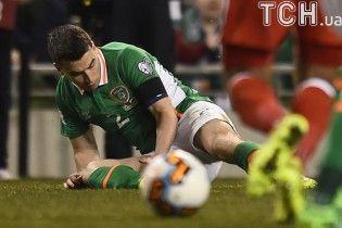 Захисник збірної Ірландії отримав моторошну травму в матчі відбору до ЧС-2018