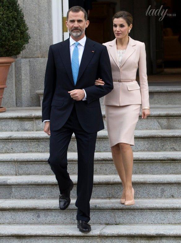 Королева Летиция и король Филипп VI_2