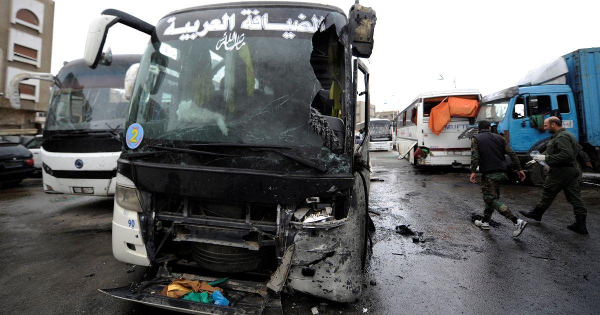 """Колишній """"Фронт Нусра"""" взяв відповідальність за жорстокий теракт у Дамаску"""