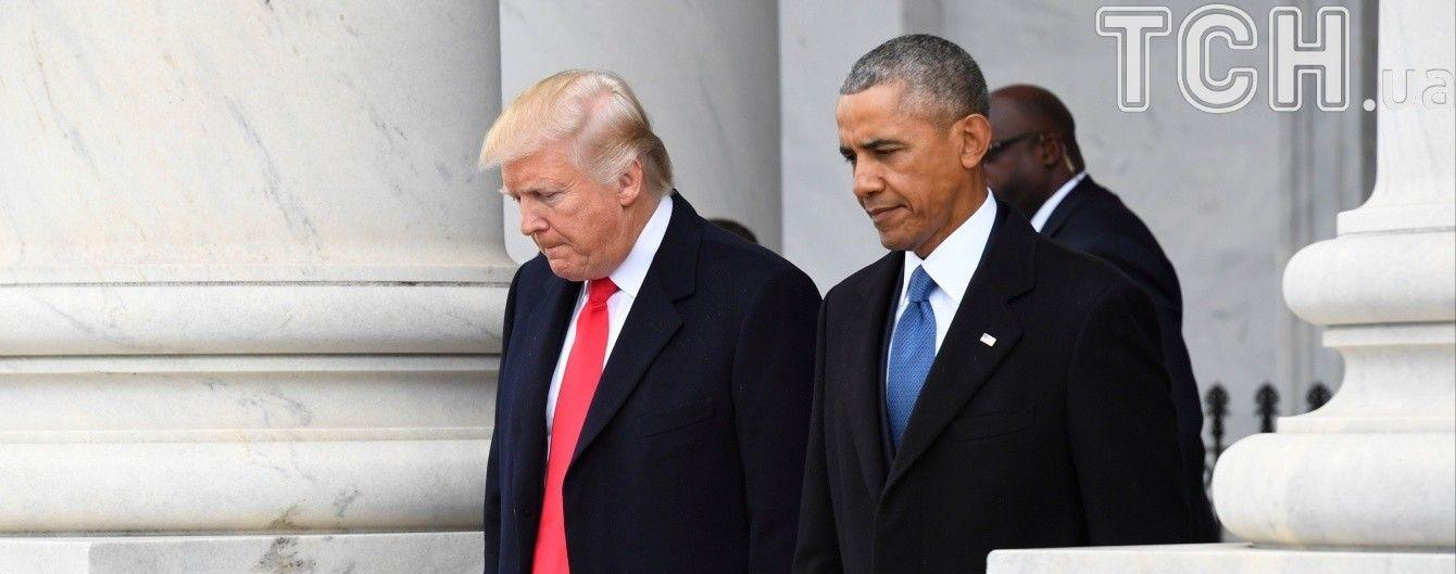 Трамп обвинил Обаму в прослушке его телефона во время предвыборных гонок