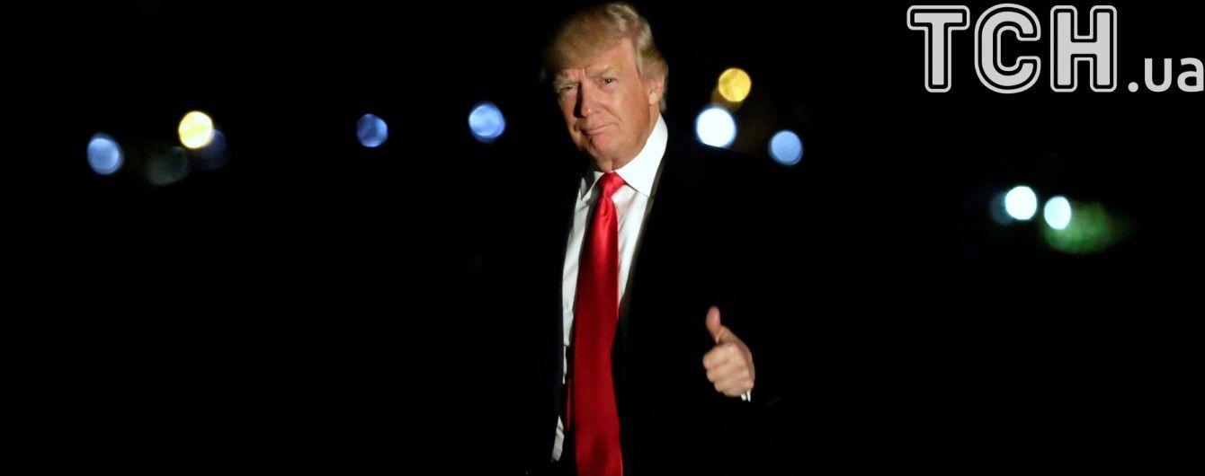 Рейтинг Трампа зріс, але недовіра до президента США більше