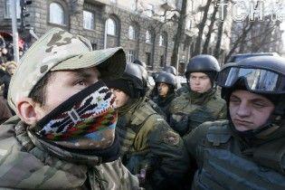 Задержанных во время протестов в Киеве отпустили