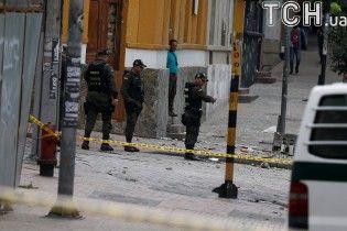 В столице Колумбии возле арены для боя быков произошел мощный взрыв, есть раненые