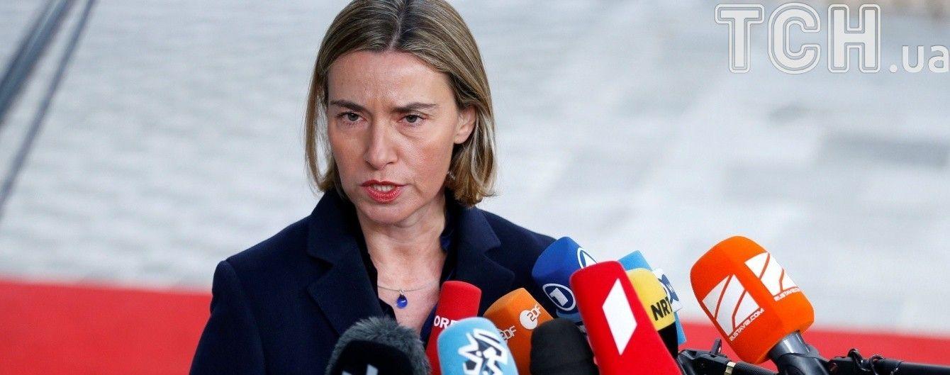 Евросоюз не будет признавать выборы в аннексированном Крыму и продлит санкции - Могерини
