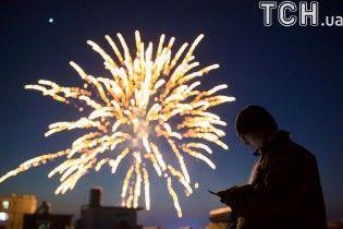 В Китае с грандиозными фейерверками и уникальным танцем дракона встречают Новый год