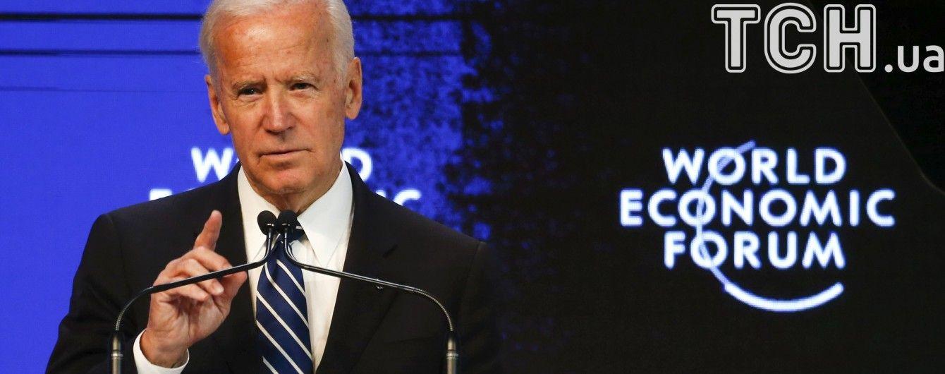 Байден у роздумах про президентське крісло у США назвав себе найкваліфікованішою людиною на цю посаду