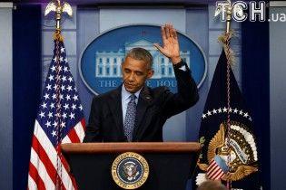 Емоції Обами у фотографіях на останній прес-конференції як президента США