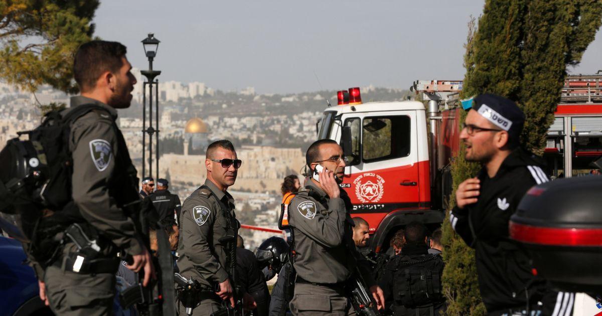 Грузовиком в толпу. Назвали имя террориста, который в Иерусалиме убил людей