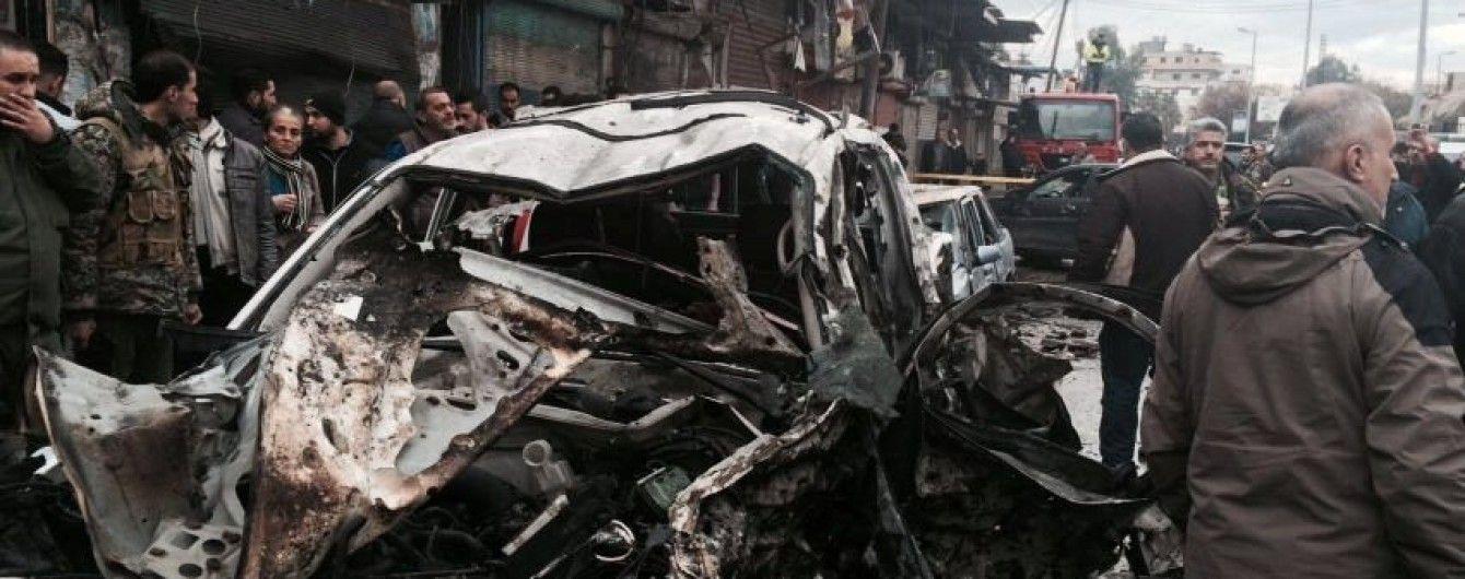 В Сирии произошел первый взрыв с начала перемирия, есть погибшие