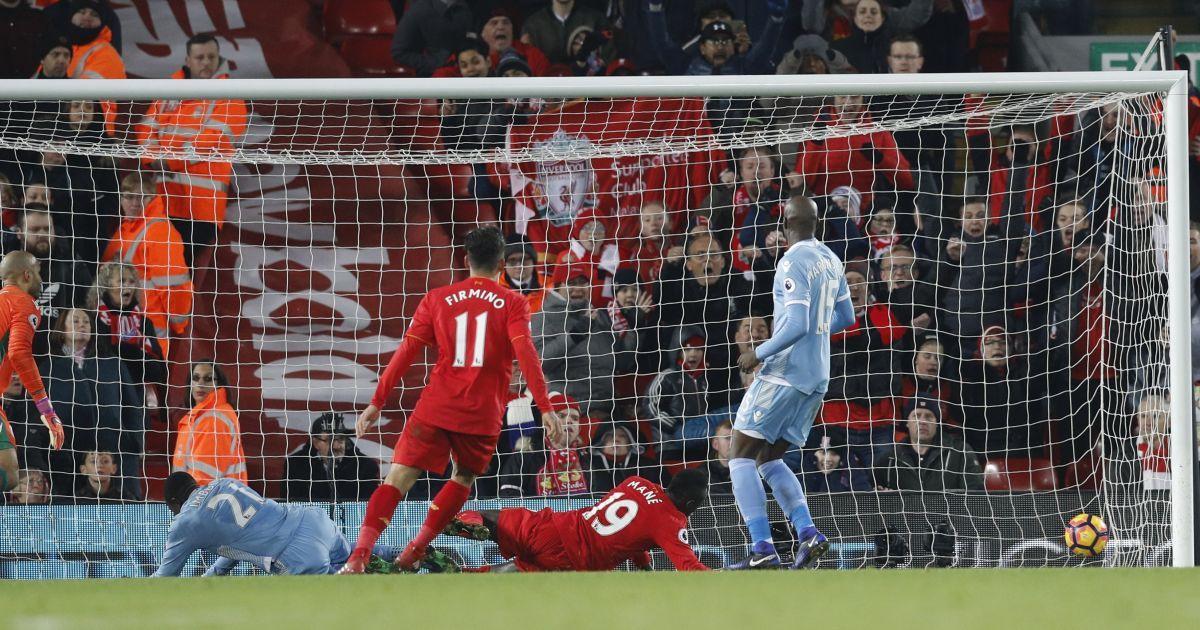 «Ліверпуль» на своєму полі обіграв «Сток Сіті» @ Reuters