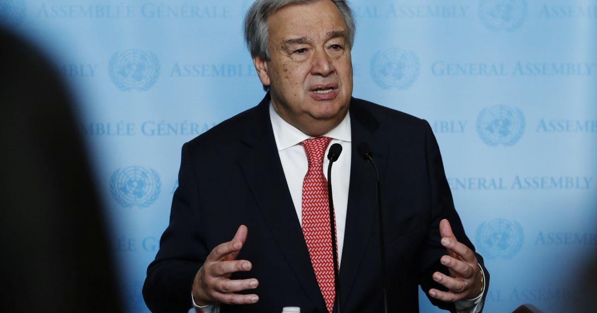 Генсек ООН инициировал создание платформы для глобальной борьбы с кибервойнами