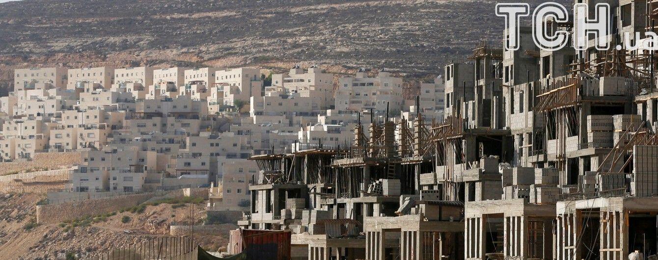 Нетаньягу скасував голосування щодо скандальних ізраїльських поселень в Палестині